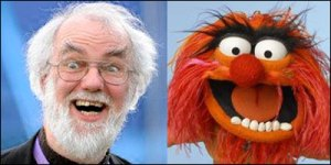 rowan williams muppet